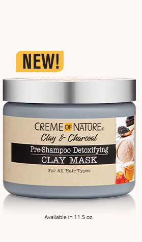 Creme of Nature - Clay & Charcoal Mask
