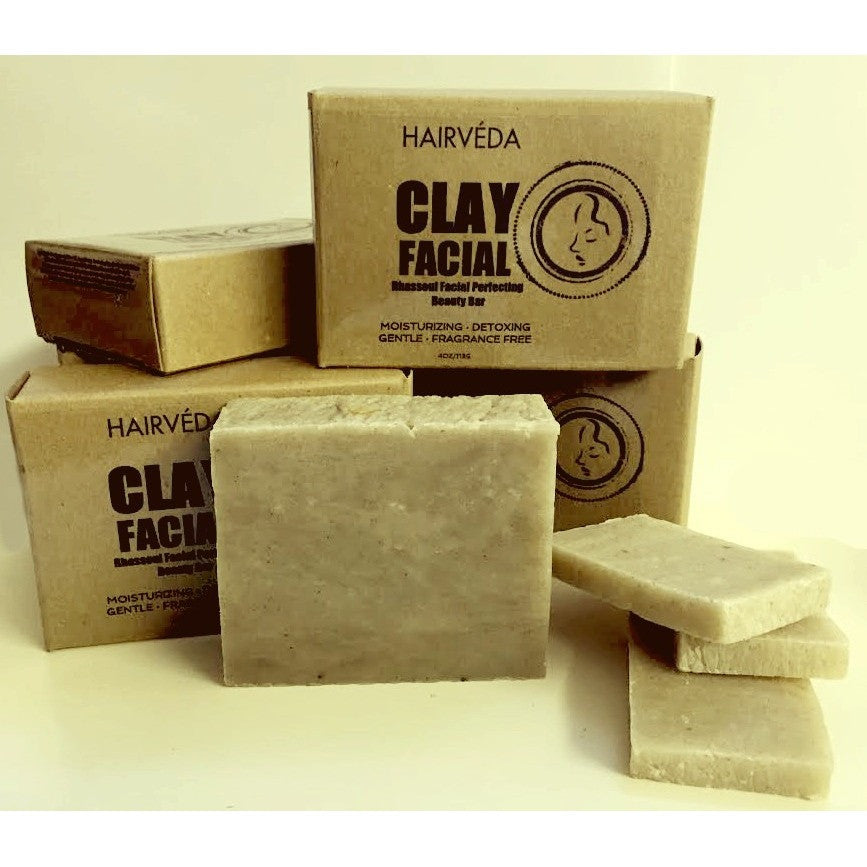 Hairveda Clay Facial Beauty Bar