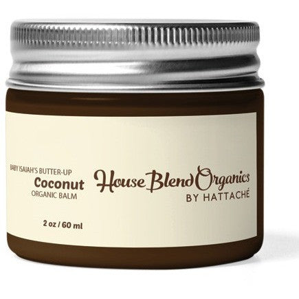 House Blend Organics - Baby Isaiah's Butter-Up Coconut Organic Balm