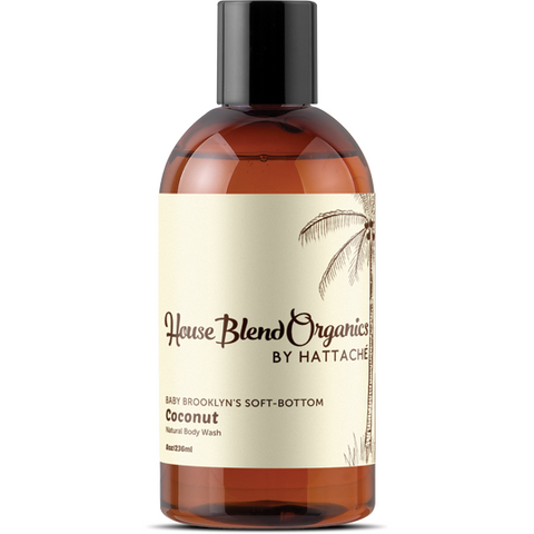 House Blend Organics - Baby Brooklyn's Soft-Bottom Coconut Body Wash