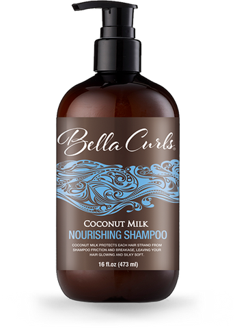 Bella Curls - Coconut Milk Nourishing Shampoo