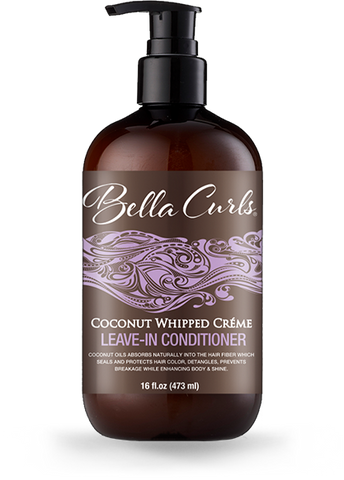 Bella Curls - Coconut Whipped Creme Leave-In Conditioner