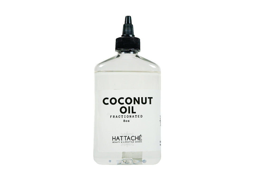 Hattache Natural Oil for Hair + Skin - Coconut Oil (Fractionated)