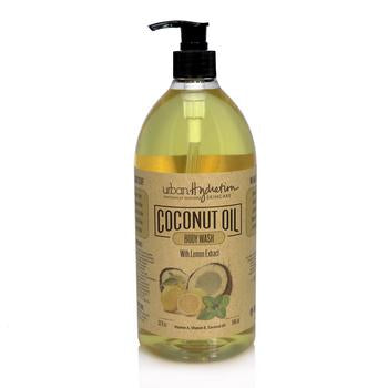 Urban Hydration - Coconut Oil Lemon Extract Body Wash