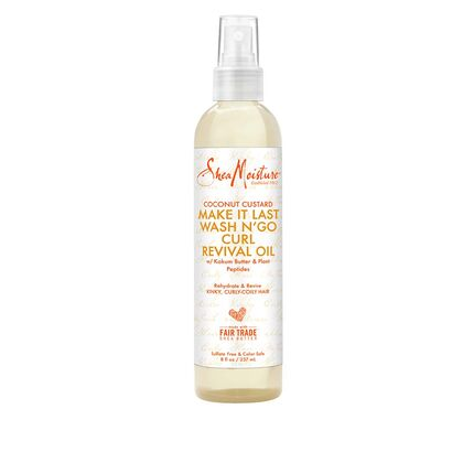 Shea Moisture Coconut Custard Curl Revival Oil