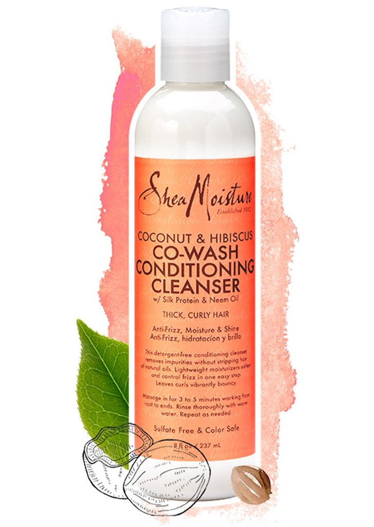 Shea Moisture Coconut Hibiscus Co-Wash Conditioning Cleanser