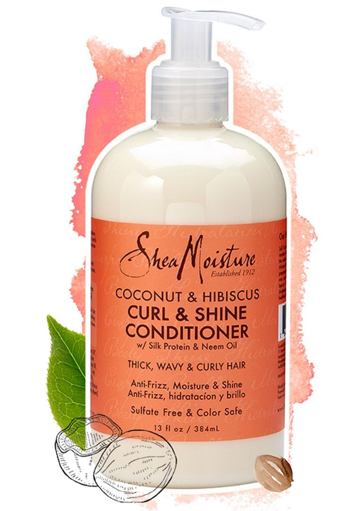 Shea Moisture Coconut Hibiscus Curl & Shine Conditioner
