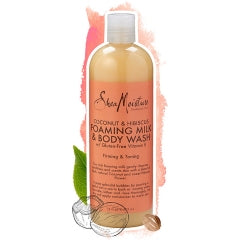 Shea Moisture Coconut Hibiscus Foaming Milk & Body Wash