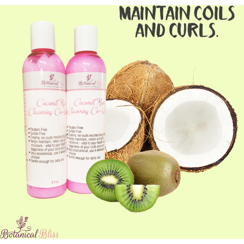 Botanical Bliss Coconut Kiwi Cleansing Co Wash