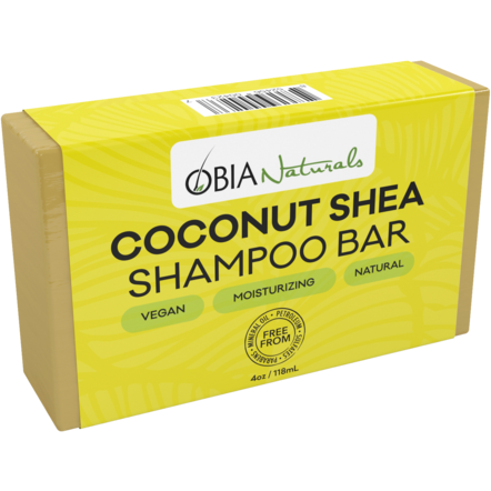 Obia Natural Coconut & Shea Shampoo Bar