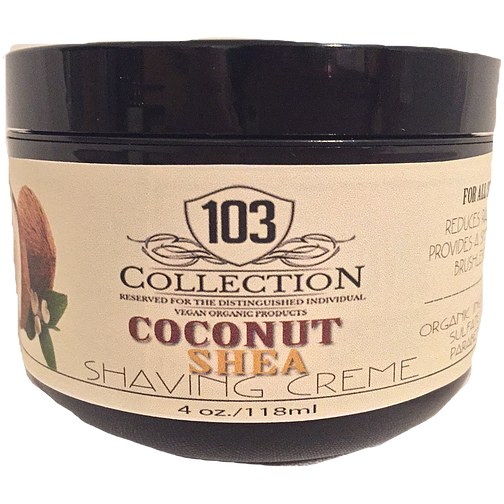 103 Collection - Organic Coconut Shea Shaving Creme