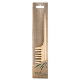 Annie International - Bamboo Rat Tail Comb