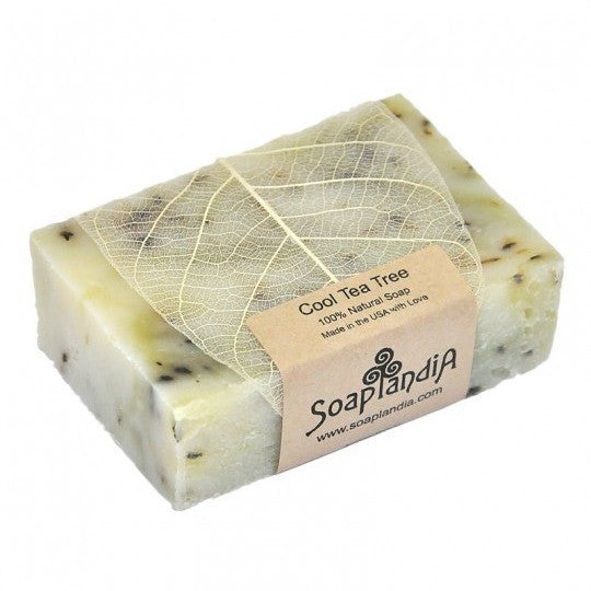 Soaplandia - Cool Tea Tree Bar Soap