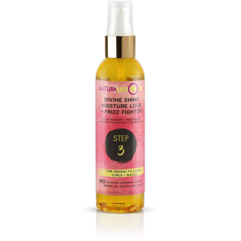 Naturalicious - Divine Shine Moisture Lock & Frizz Fighter (Curls/Waves)