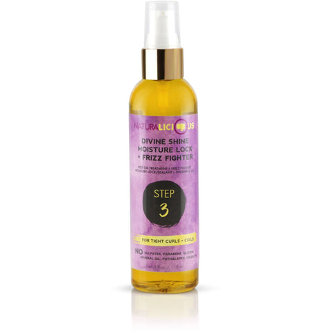 Naturalicious - Divine Shine Moisture Lock & Frizz Fighter (Curls/Coils)