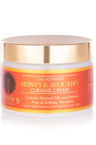 Miracle 9 Honey & Avocado Curling Cream