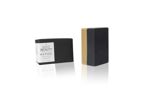 SDOT Beauty - DETOX Charcoal & Seaweed Cleansing Bar