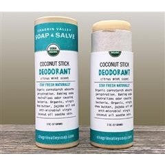 Chagrin Valley Deodorant Stick - Coconut Citrus Mint