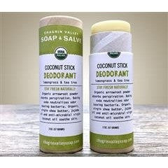 Chagrin Valley Deodorant Stick - Coconut Lemongrass Tea Tree