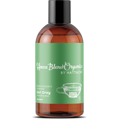 House Blend Organics - Papa Poochie's Everyday Earl Grey Natural Body Wash