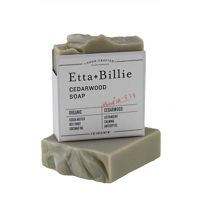 Etta + Billie Cedarwood Soap