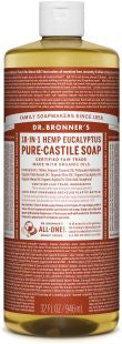 Dr Bronner's 18-in-1 PURE Castile Liquid Soap - Eucalyptus