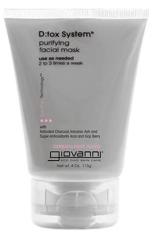 Giovanni Cosmetics - D:Tox System Purifying Facial Mask