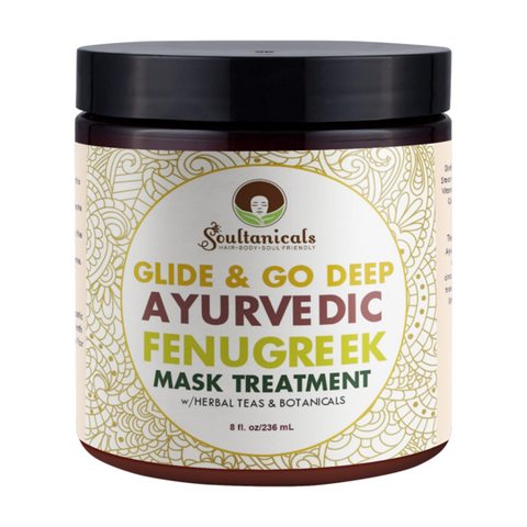 Soultanicals Glide & Go Deep Ayurvedic Fenugreek Mask Treatment