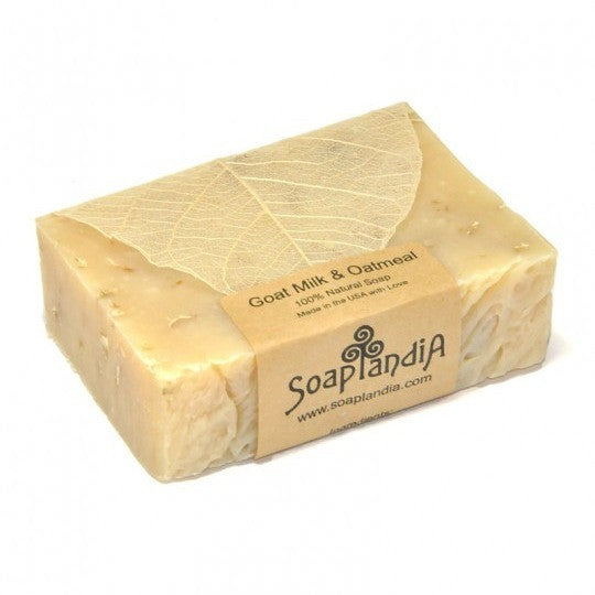 Soaplandia - Goat Milk & Oatmeal Bar Soap