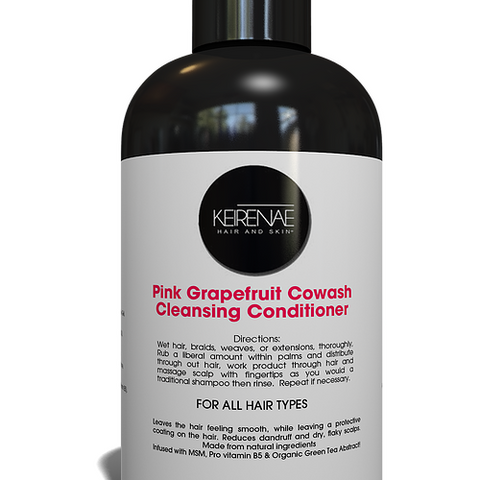 Keirenae Pink Grapefruit Co-Wash Cleansing Conditioner