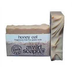 A Wild Soap Bar - Honey Oats Soap and Shampoo Bar
