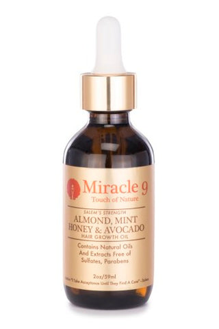 Miracle 9 Honey & Avocado Hair Growth Oil