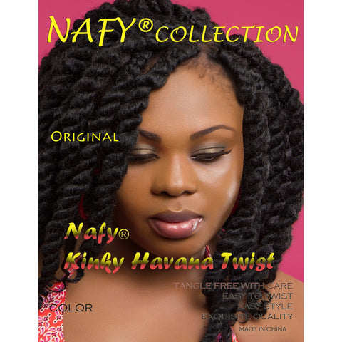 Nafy Collection Kinky HAVANA Twist Hair