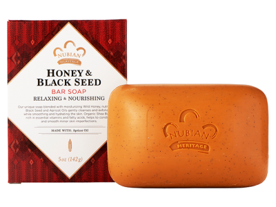 Nubian Heritage - Honey & Black Seed Bar Soap