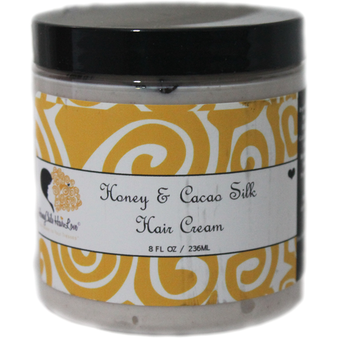 Honey Chile Hair Love - Honey & Cacao Silk Hair Cream