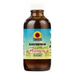Tropic Isle Living Jamaican Black Castor Oil with ROSEMARY