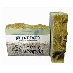 A Wild Soap Bar - Juniper Berry Shampoo and Body bar