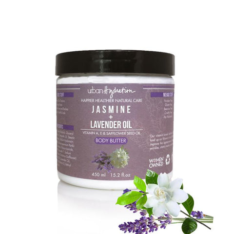 Urban Hydration - Jasmine & Lavender Oil Body Butter