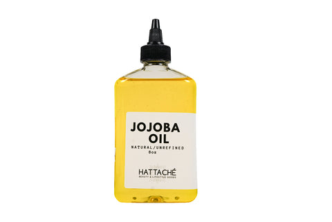 Hattache Natural Oil for Hair + Skin - Jojoba Oil (Organic)