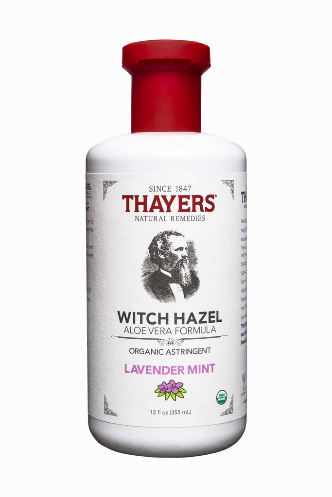 Thayers Organic Lavender Mint Witch Hazel Astringent with Aloe Vera