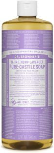 Dr Bronner's 18-in-1 PURE Castile Liquid Soap - Lavender