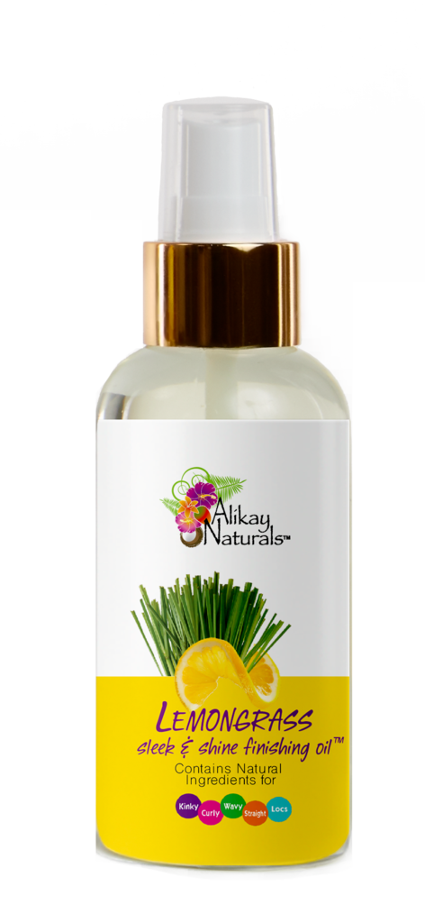 Alikay Naturals Lemongrass Collection - Slick & Shine Finishing Oil