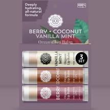 Woolzies - Berry, Coconut, Vanilla Mint Lip Balm