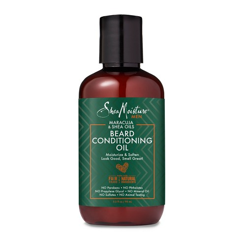 Shea Moisture Men - MARACUJA & SHEA OILS BEARD CONDITIONING OIL