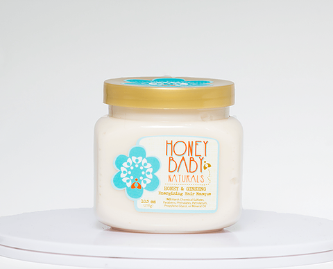Honey Baby Naturals Honey & Ginseng Energizing Hair Masque