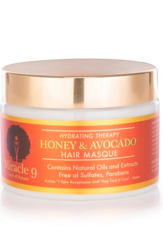 Miracle 9 Honey & Avocado Hair Masque