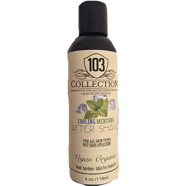 103 Collection - Vegan Organic Cooling Menthol Aftershave