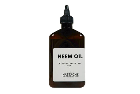 Hattache Natural Oil for Hair + Skin - Neem Oil (Virgin/Unrefined)