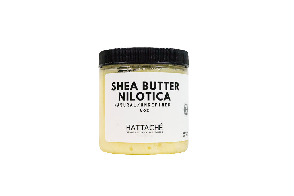 Hattache Natural Butter for Hair + Skin - NILOTICA Shea Butter