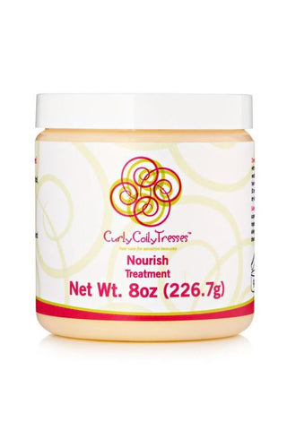 Curly Coily Tresses - Nourish Treatment